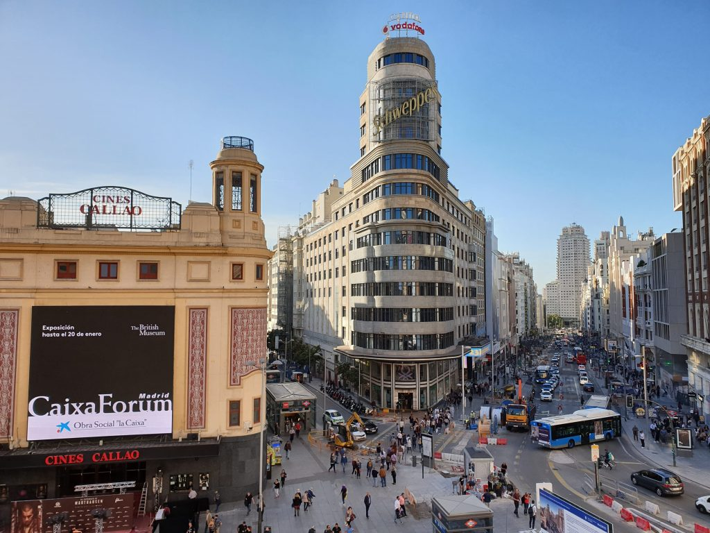 Corporate system in Madrid